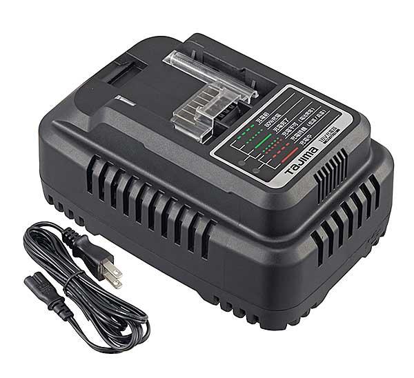 ☆TAJIMA/タジマ PT-QC18 18V急速充電器 USB電源端子付