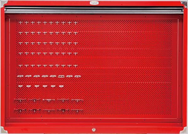【代引き不可】☆TONE/トネ C60B C60B 工具 シャッター付サービスボード 工具 収納 収納 おしゃれ, エスニックのマーブルマーケット:965c3a0b --- sunward.msk.ru