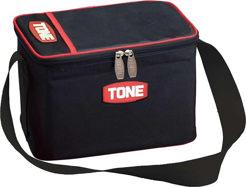 定番から日本未入荷 ボルト ナットや工具類が収納 ついに入荷 運搬できる便利バッグ 人気商品です ☆TONE トネ ボルトバッグ BGBB1 ブラック