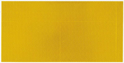 ☆TRUSCO/トラスコ中山 超高輝度反射シート プリズム型 455mmX227mm 黄  HS4522PY  (2208920)