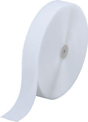 ☆TRUSCO/トラスコ中山 マジックテープ 縫製用B側 幅50mmX長さ25m 白  TMBH5025W  (3619516)