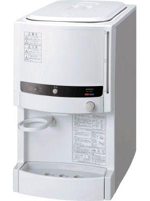 ☆【代引き不可】日立 ウォータークーラー 冷・温水兼用 タンク式 卓上形 RW-129BH 12L コード(7728051)