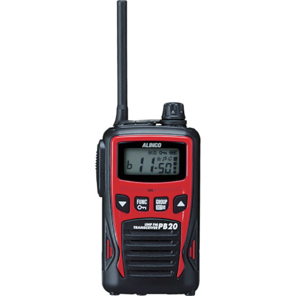 【送料無料】☆アルインコ 特定小電力トランシーバー 20ch レッド DJPB20R コード(7562608)