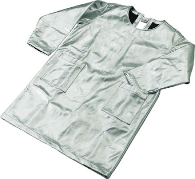 ☆【送料無料】TRUSCO/トラスコ中山 スーパープラチナ遮熱作業服 エプロン LLサイズ  TSP3LL  (2878933)