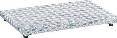 【代引き不可】☆TRUSCO/トラスコ中山 低床式アルミ製ステップ 900X600XH90~120  TFS0960AL  (2775786)