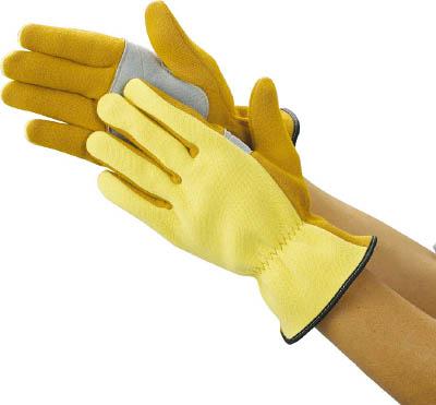 ☆TRUSCO/トラスコ中山 ザイロン耐切創手袋 平当て部補強タイプ Lサイズ  TPZG621  (3287017)