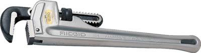新品即決 リジッド パイプレンチ 1200mm アルミストレート 31115:工具屋ドットコム店-DIY・工具