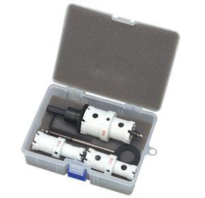 デンサン クイックダブル超硬ホールソー セット HW-2142S
