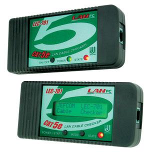 ジェフコム LANケーブルチェッカー LEC-701