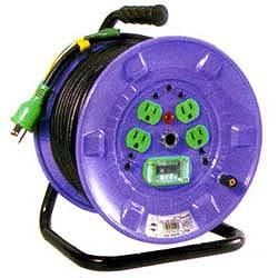 日動工業 漏電しゃ断器付 アース付 電工ドラム NP-EB34