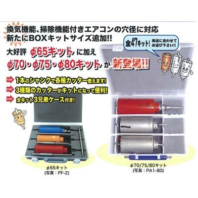ミヤナガ コア3兄弟BOXキット PA2-75