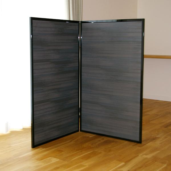 和風ふすま衝立 もみじ 2連衝立サイズ 約70cm×高さ113.5cm×2連日本製 送料無料