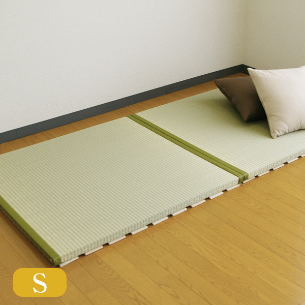 【送料無料】【シングル】すのこ畳ベッドAS  ひのき仕様おくだけ畳(すのこ付き)・畳ベッド【い草畳表】【日本製】