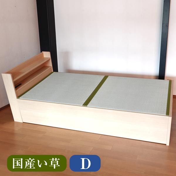 畳ベッド ダブル用ベッド用取り換え畳 ダブルサイズ(畳2枚1セット)国産い草畳表/縁付き畳日本製 送料無料ベッド用畳 オーダーサイズ 交換 ベット用畳 畳ベット