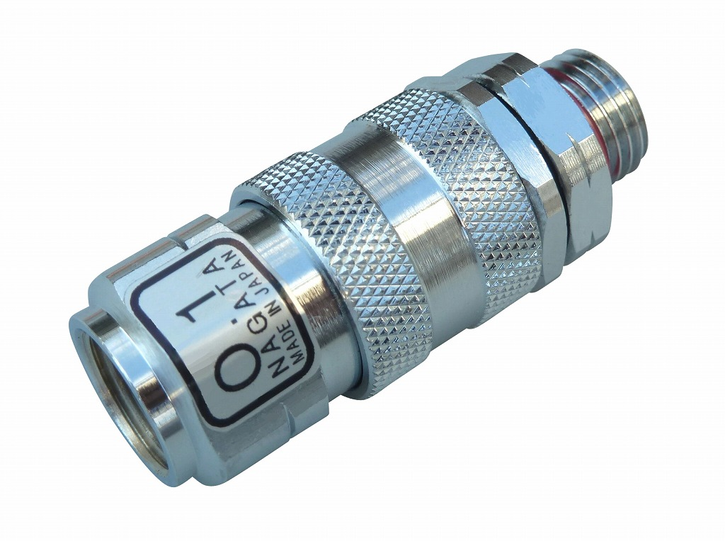 高圧ホースに簡単ジョイント 高い素材 ワンタッチカプラー 安心の定価販売 A 8.5mm ねじG1 4 永田製作所