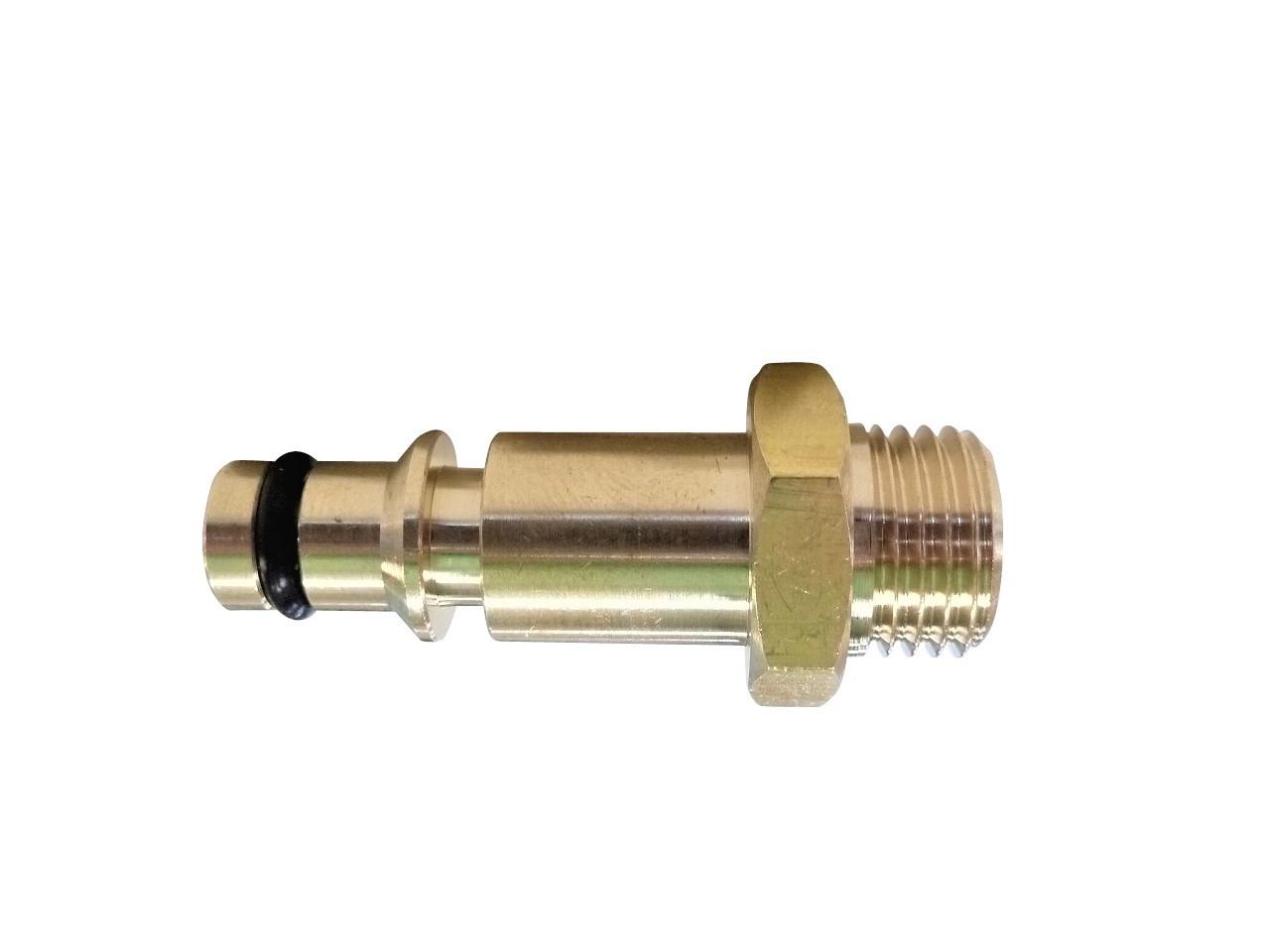 日立コードレス高圧洗浄機 用 AW14DB/AW18DBL 用高圧ホース(内径5mm)×4m ねじG1/4 変換アダプター クイックコネクト プラグ付