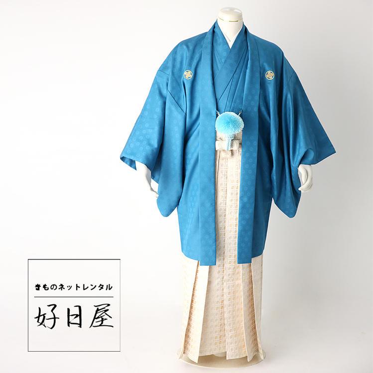 卒業式 袴 レンタル 男 着物 結婚式 着物 成人式 男性 紋付袴 dh-017-s