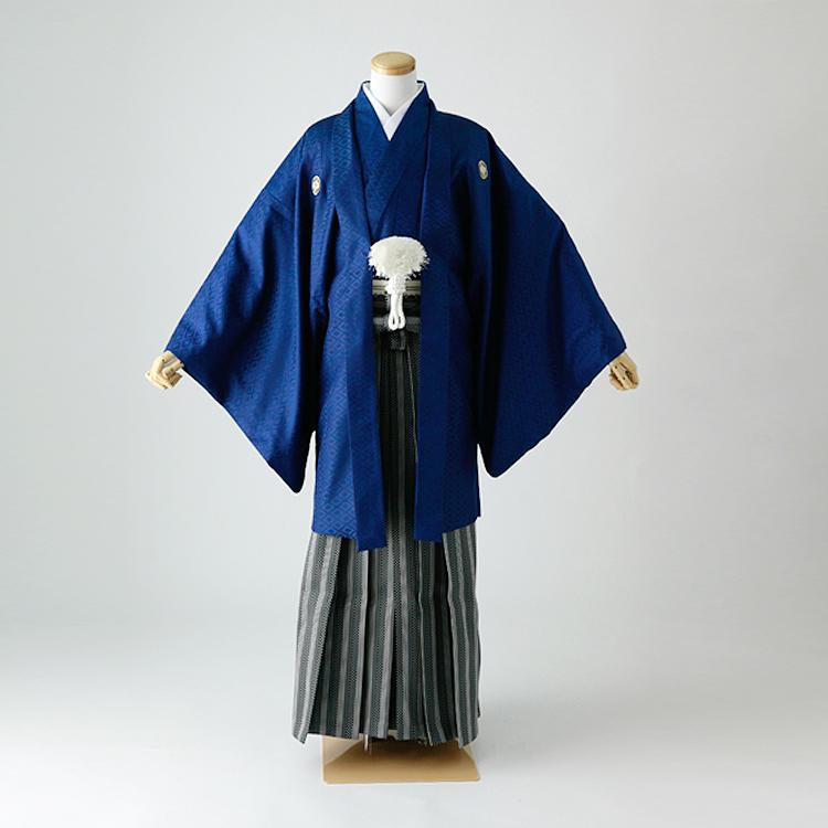 卒業式 袴 レンタル 男 着物 結婚式 着物 成人式 男性 紋付袴 dh-053-s