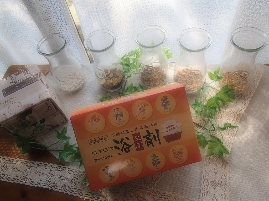 ウチダの浴剤 30gx10包入り×12箱【着色料無添加!】【生薬の入浴剤 】
