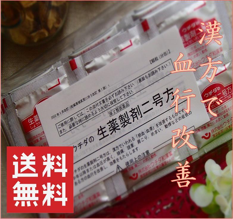 ※送料等無料ウチダの生薬製剤二号方(2g×60包)×6(顆粒)(120日分)