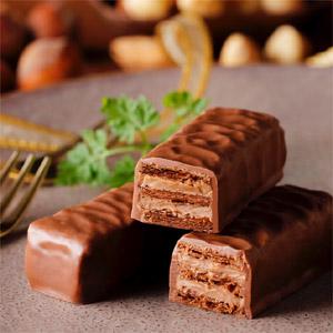 期間限定 石屋製菓 美冬 ジャンドゥーヤ(6個入り)みふゆ ミルフィーユ チョコレート アーモンド ナッツ プラリネ