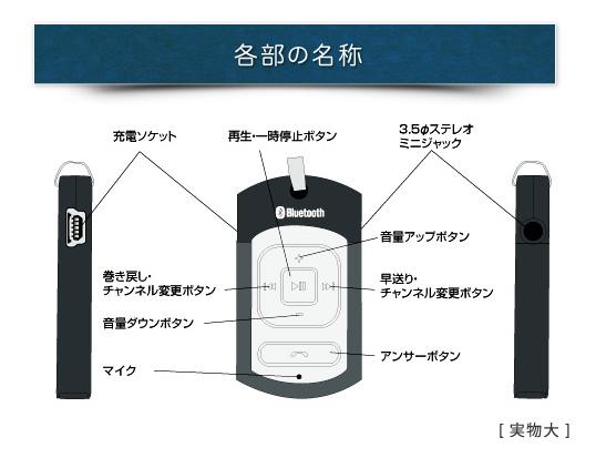 BlueTooth头戴式受话器BT-A2DT