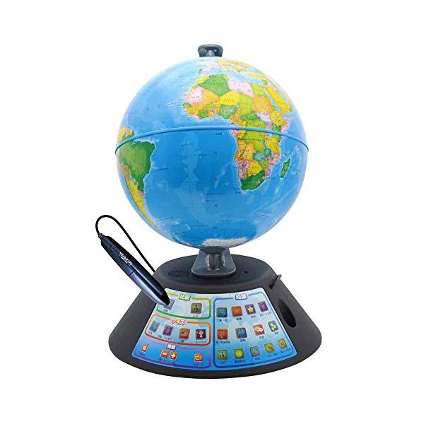 2019最新のスタイル 地球儀 しゃべる ドウシシャ しゃべる地球儀 パーフェクトグローブ GEOPEDIA ジオペディア【送料無料】, オカヤマシ 8e29dcb7