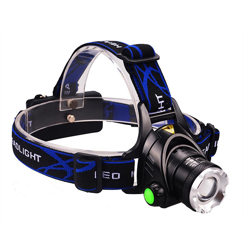 Digital-Land LEDズームヘッドライト 送料無料 北海道 沖縄 離島は適用外 ヘッドライト LED 照射距離200ml ズームヘッドライト 登山 作業灯 釣り 強力800ルーメン 全国一律送料無料 アウトドア 待望