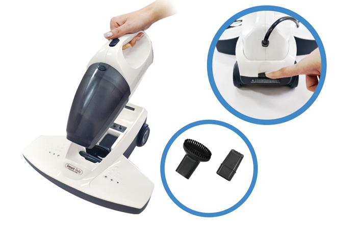 【ちょっと訳あり】掃除機 ハンディクリーナー 布団 ダニをたたき出し UV除菌 レイコップご検討の方に
