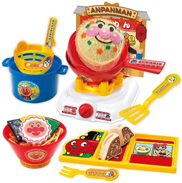 送料無料 激安 アンパンマン くるんと炒めてチャーハンも アンパンマンラーメンDXセット ジョイパレット おままごと 豪華な ままごと遊び ごっこ遊び それいけ 玩具 沖縄 北海道 おもちゃ こども 離島は適用外