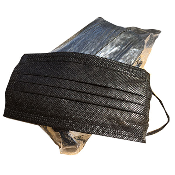 マスク 黒 不織布 箱 ブラックマスク 驚きの価格が実現 使い捨て 保証 黒マスク 50枚入り PM2.5対応 N95