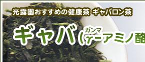 農林水産省開発 国産ギャバロン茶 100g ギャバ ギャバロン茶 国産 メーカー直送 緑茶 内祝い 100g