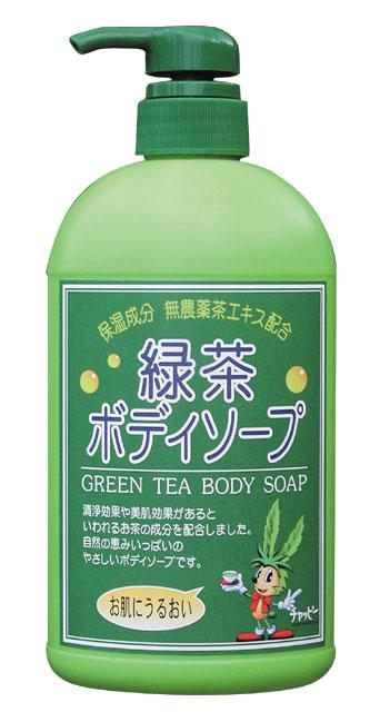 カテキン 緑茶の天然保湿成分でお肌イキイキ 送料込 京都 お気にいる 日本茶 お茶 550ml 緑茶ボディーソープ 石鹸 敏感肌の方にも安心
