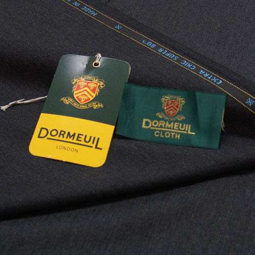 Dormeuil/ドーメル/EXTRA CHIC/エキストラチック/チャコールグレー/3.0m/No,60/15374