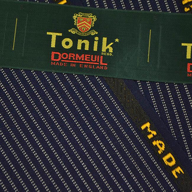 Dormeuil/ドーメル/Tonik/トニック/ヴィンテージ生地/スーツ用生地/夏用生地/紺(明るめ)/ストライプ/2.8m/NO.1/771