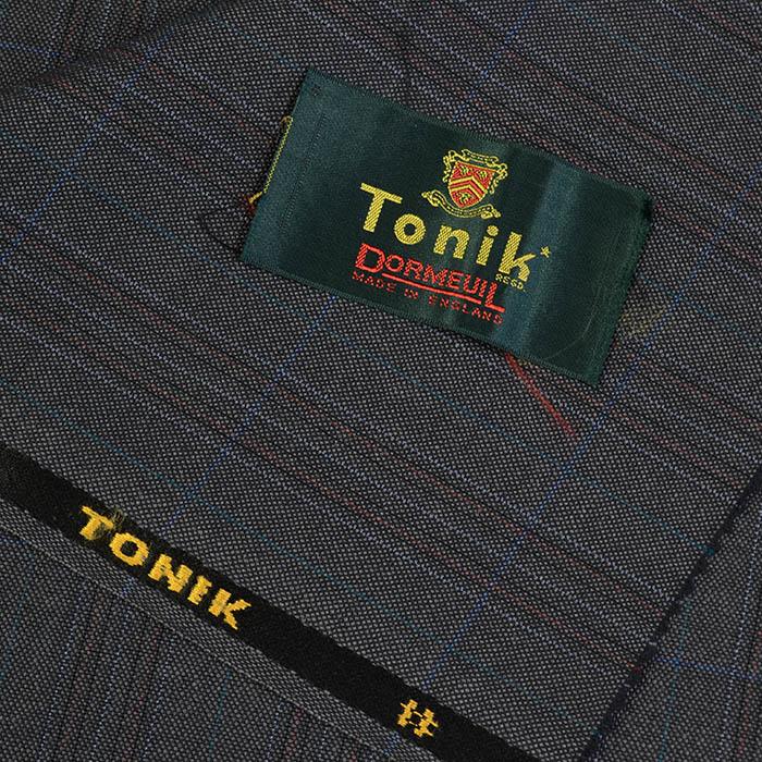 Dormeuil/ドーメル/Tonik/トニック/スーツ用生地/グレー系/3.0m/NO.89/1050