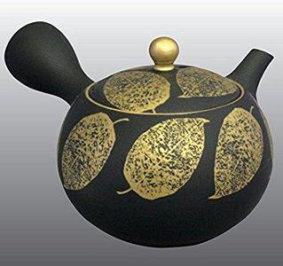 常滑焼 急須 昭萠窯 金木の葉 11号 200ml セラメッシュ