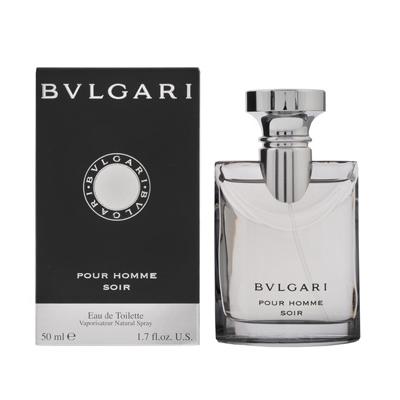 ブルガリ BVLGARI プールオム ソワール EDT SP 50ml 【香水】【激安セール】【あす楽】【割引クーポンあり】