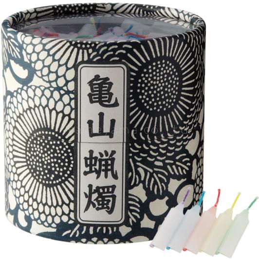 五色蝋燭 亀山  供養 仏前 カメヤマ 蝋燭 ろうそく ローソク