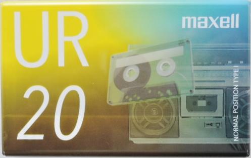 マクセル カセットテープ UR-20N ノーマル 送料込価格  マクセル カセットテープ UR-20N ノーマル 送料込価格