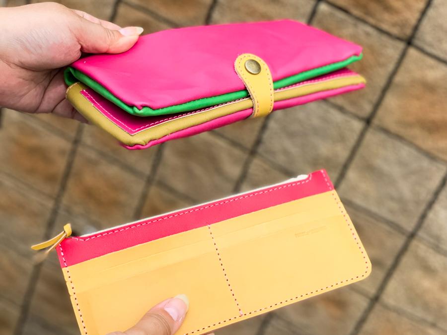 ▲F-PLUMP 縁起のいいナナイロMIX「フルプランプ 長財布」ふっくら感にキュン?
