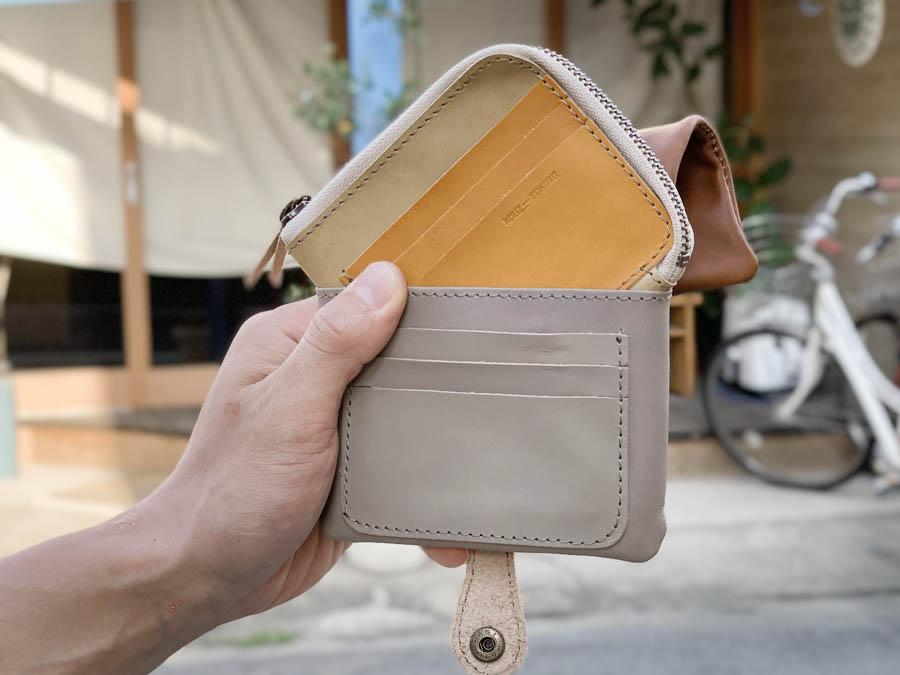 ▲H-PLUMP 渋めオジサンズMIXにキュン?「ハーフプランプ 財布」個性的デザイン