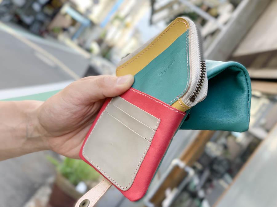 ▲H-PLUMP はじけるキャンディーポップ「ハーフプランプ 財布」ふっくらキュート