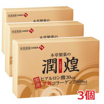 潤煌(うるおう) 60包×3個ヒアルロン酸と華舞コラーゲンで潤う!【smtb-s】