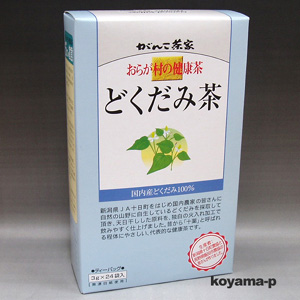 誕生日プレゼント ☆最安値に挑戦 おらが村の健康茶どくだみ茶 3g×24袋入 国内産どくだみ100%