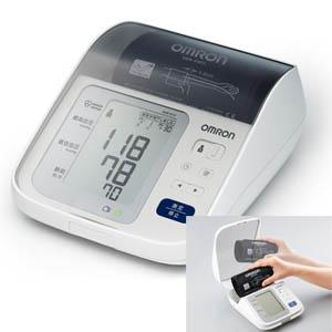大きな文字で測定結果が見やすい カフすっきり収納タイプ 送料無料 オムロン上腕式血圧計 HEM-8731 ストアー 2人分の過去の血圧値を記録し 表示する お中元 60回 メモリ機能