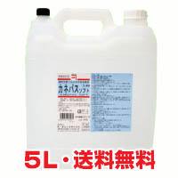 ★送料無料★外皮消毒剤 カネパスソフト 5L(速乾性手指消毒剤)
