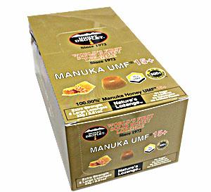 ★送料無料★ハニードロップレット100%UMF マヌカハニー(37ハニー)15+(のど飴) 1箱(6粒入り)×12箱