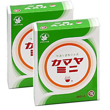 カマヤミニ 強 600ケ入×2個(釜屋もぐさ)