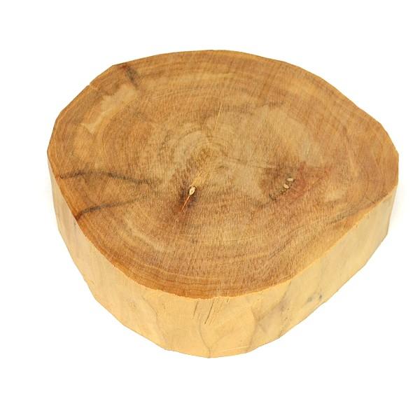 【香木・白檀・サンダルウッド】バヌアツ産白檀木 440g 直径約14cm【上品】Sandalwood【メール便不可商品】